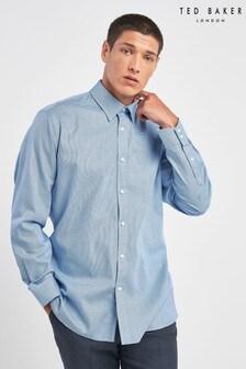 Ted Baker Blue Pramm Hexagon Endurance Shirt