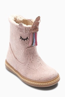 Unicorn Boots (Younger)