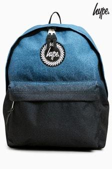 Синий рюкзак в крапинку с эффектом «деграде» Hype.