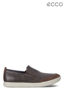 Ecco® Brown Slip-On Shoe
