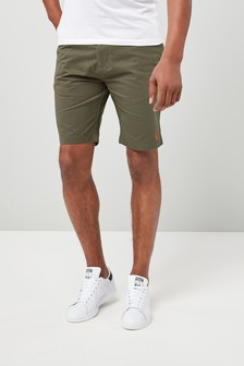 Stag Embroidered Chino Shorts