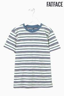 FatFace Natural Stripe T-Shirt