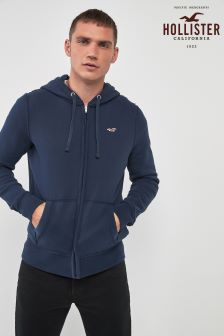 Hollister Icon Zip Through Hoody
