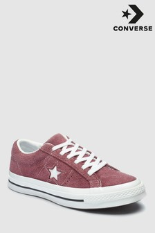 Converse Burgundy One Star