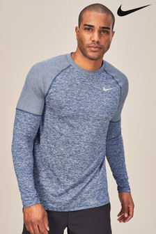 Nike Element Blue Running Crew