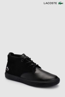 Lacoste® Black Chukka Boot