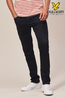 Lyle & Scott Black Slim Fit Jean