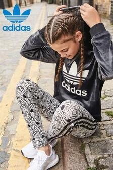 Sweat à capuche court adidas Originals
