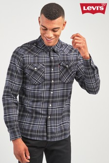 Levi's® Black Barstow Western Check Shirt