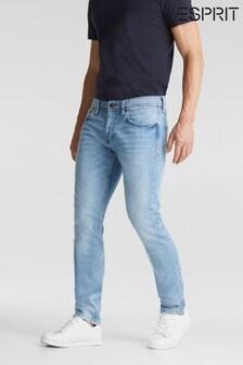 Esprit Blue Tapered Denim Jeans