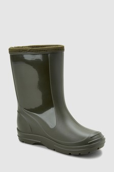 Warm Lined Wellies (Younger)