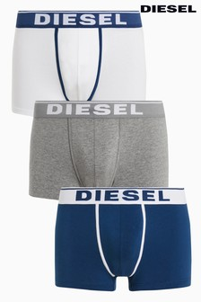 Diesel® Navy/Grey/White Trunk Three Pack