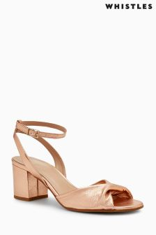 Whistles Softy Twisted Vamp Sandal