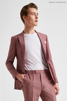 French Connection Slim Fit Mulberry Jacket