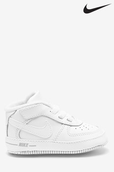 Nike White Air Force 1 Baby Trainers