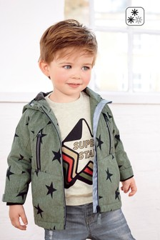 Star Print Anorak (3mths-6yrs)