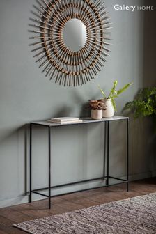 Mellieha Light Grey Console Table By Hudson Living