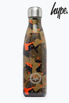 Hype. Geo Camo Metal Reusable Water Bottle