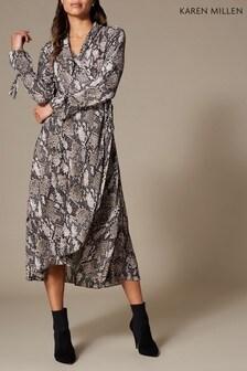 Karen Millen Snake Print Collection Dress