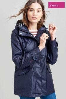 Joules Blue Sailaway Short Raincoat