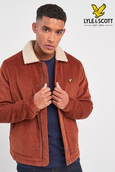 Lyle & Scott Shearling Cord Jacket