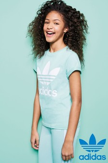 adidas Originals Mint Green Trefoil Tee