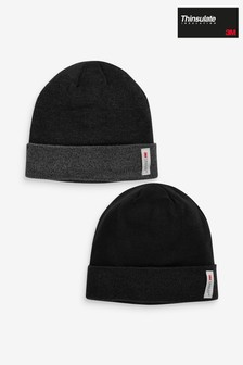 Thinsulate® Beanie Two Pack