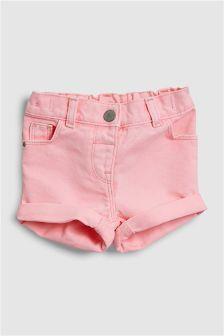 Pantaloni scurți pliaţi (3 luni - 6 ani)