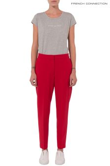 French Connection Red Trouser