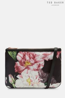 Ted Baker Black Jelsey Floral Cross Body Bag