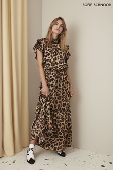 Sofie Schnoor Leopard Maxi Dress