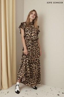 שמלת מקסי מנומרת של Sofie Schnoor
