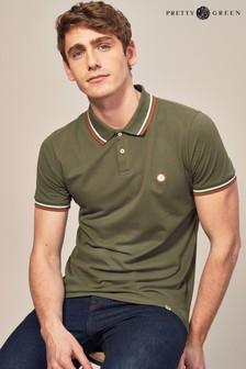 Pretty Green Barton Kurzärmliges Poloshirt