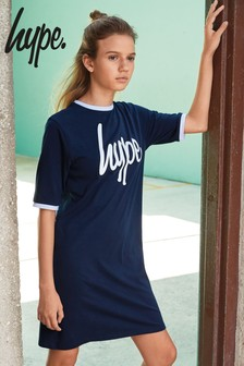 Hype. Navy Tee Dress