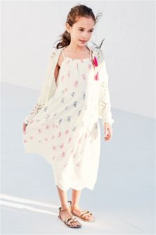 Tiered Print Maxi Dress (3-16yrs)