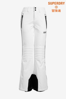 Superdry White Snow Joggers