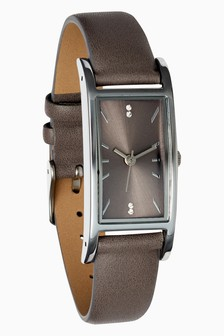 Rectangle Case Watch