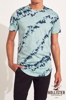 Hollister Green Ombre T-Shirt