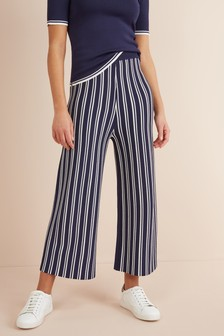 Вязаная юбка-брюки