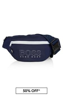 Boss Kidswear Boys Navy Bag
