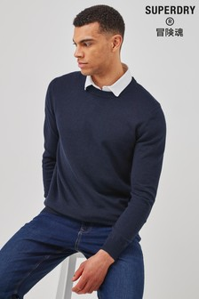 Superdry Coolmax Crew Knitted Jumper