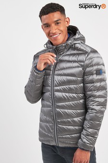 Superdry Silver Clarendon Down Padded Jacket