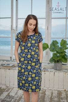 Seasalt Blue Climbing Blooms Yacht River Cove Dress