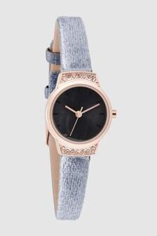 Velvet Strap Watch