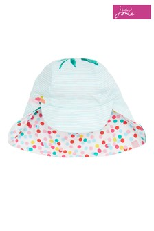 Joules Blue Sunny Reversible Hat
