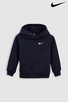 Sweat à capuche Nike Club bleu marine