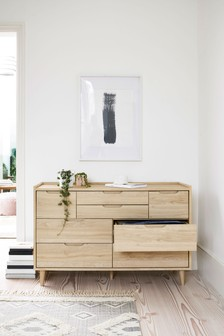 Stockholm 8 Drawer Wide Chest