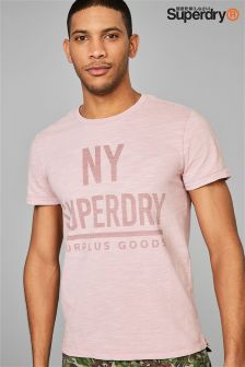 Superdry Pink Surplus T-Shirt