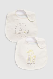Mummy & Daddy Regular Bibs Two Pack