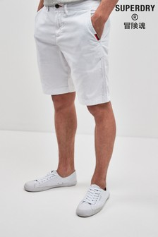 Superdry White Chino Short
